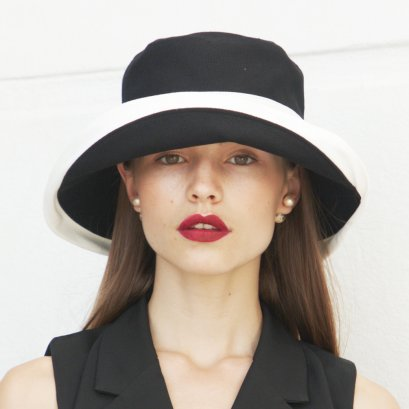 Super Madame Coco Hat (Black)